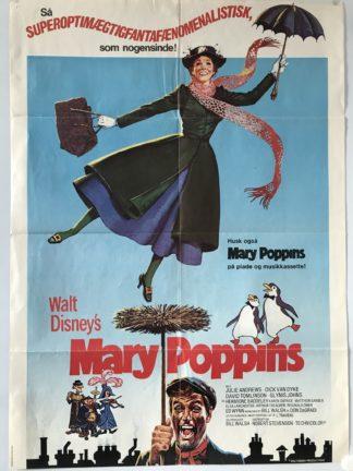 Mary Poppins + 1 sæt Lobby cards – 8 stk