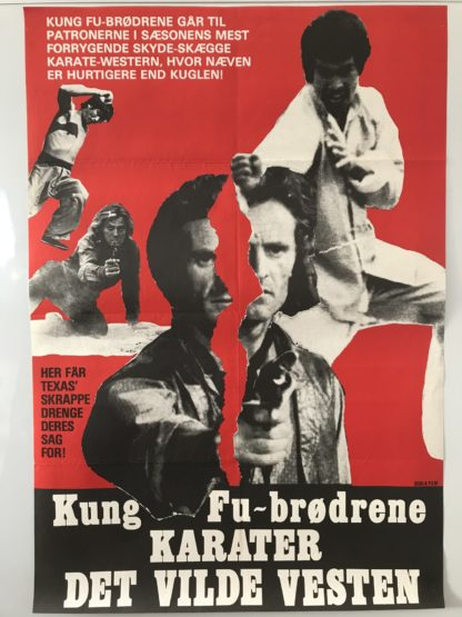 Kung Fu-brødrene karater Det Vilde Vesten
