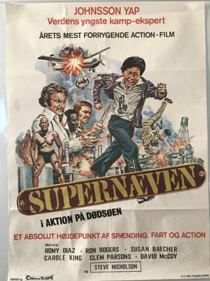 Supernæven i aktion på dødsøen