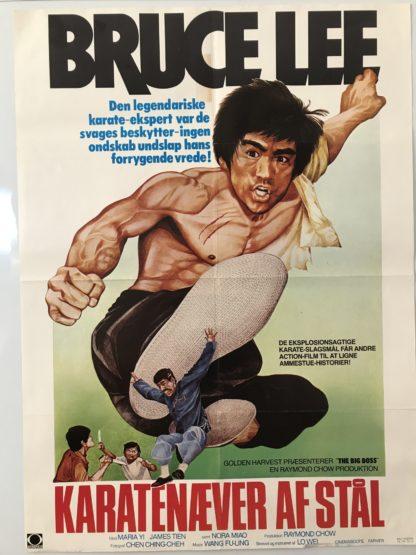 Karatenæver af stål