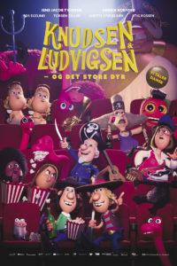Plakat til Knudsen & Ludvigsen - Og det store dyr
